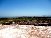 Parque Nacional Gran Sabana Suelo de Arcilla Blanca royalty free stock image