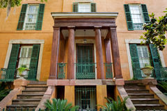 Savannah architecture royalty free stock photo