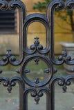 Savannah Architecture Black Wrought Iron Stock Photos