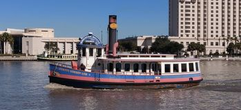Savannah River Ferry Boat stock images