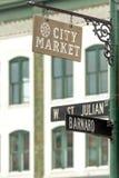 Savannah City Market lizenzfreie stockbilder