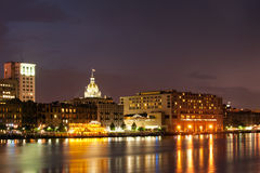 Savannah cityscape Royalty Free Stock Photography