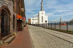 Savannah Cityscape Imagens de Stock