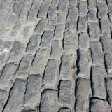 Savannah cobblestone street Royalty Free Stock Photography