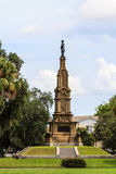 Savannah confederate memorial Stock Image