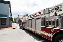 Savannah Fire Truck Stock Photos