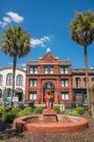 Savannah Georgia do centro EUA Imagens de Stock Royalty Free