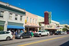 Savannah Georgia do centro EUA Fotografia de Stock