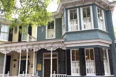 Savannah in Georgia is known for its manicured parks, horse-drawn carriages and ornate antebellum architecture Stock Photography