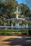 Forsyth Park Fountain royalty free stock photography