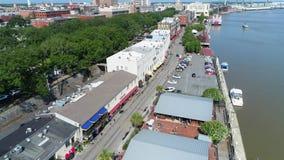 Savannah Georgia Riverfront District filme