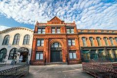 Savannah Georgia van de binnenstad de V.S. Royalty-vrije Stock Afbeelding