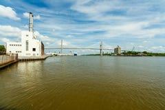 Savannah River Imágenes de archivo libres de regalías