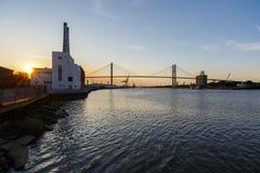 Savannah River Sunset ' stock image