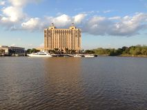 Savannah River view. This was taken on the dock of the Savannah river Stock Image