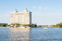 Savannah Riverfront Hotel Stock Photography