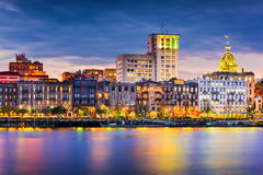 Savannah Skyline Royalty Free Stock Photo