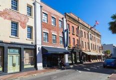 Savannah Street Royaltyfri Fotografi