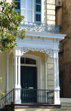Savannah Townhouse Front Door Stock Photography
