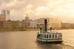 Savannah Waterfront stockbild