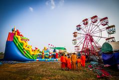 Festival in Laos Royalty Free Stock Photos