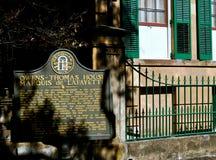 Savanne Owens Thomas Haus Stockfotos