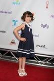 Savanne Paige Rae, das zu dem NBCTCA Sommer 2011 alle Stern-Party kommt Lizenzfreies Stockbild