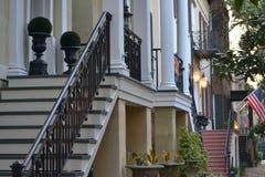 Savanne Streetscape Lizenzfreies Stockfoto