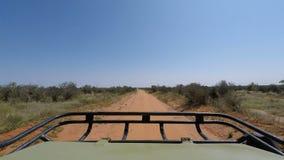 Savannlandskap i Kenya stock video