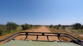 Savannlandskap i Kenya arkivfilmer
