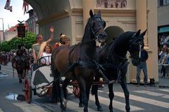 Savaria Festival, Szombathely, Hungary Stock Photography
