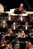 Savaria utför den Symphonic orkesteren royaltyfria bilder