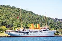 Savarona yacht Stock Images