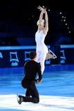 Savchenko & Szolkowy at 2011 Golden Skate Award Stock Images
