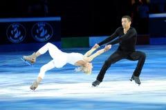 Savchenko & Szolkowy at 2011 Golden Skate Award Royalty Free Stock Photography