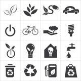 Save światu i czystej energii ikonę ilustracji
