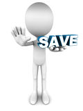 save Στοκ εικόνες με δικαίωμα ελεύθερης χρήσης