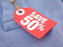 Save 50% Royalty Free Stock Photography