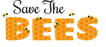 Save the Bees Stock Image