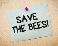 Save the bees Royalty Free Stock Images