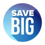 Save Big button Stock Images