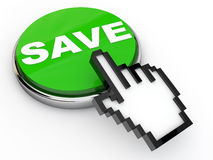 Save Button Royalty Free Stock Images