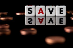 Save Concept Stock Photography