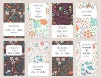 Save Daktylowe karty Fotografia Stock