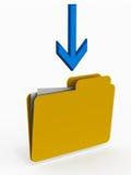 Save data folder Royalty Free Stock Photography