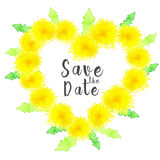 Save the date background Stock Photo