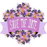 Save the date banner Stock Photos