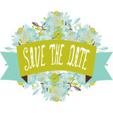 Save the date banner Stock Images