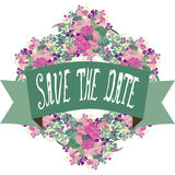 Save the date banner Stock Image