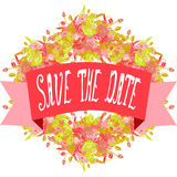 Save the date banner Stock Photography